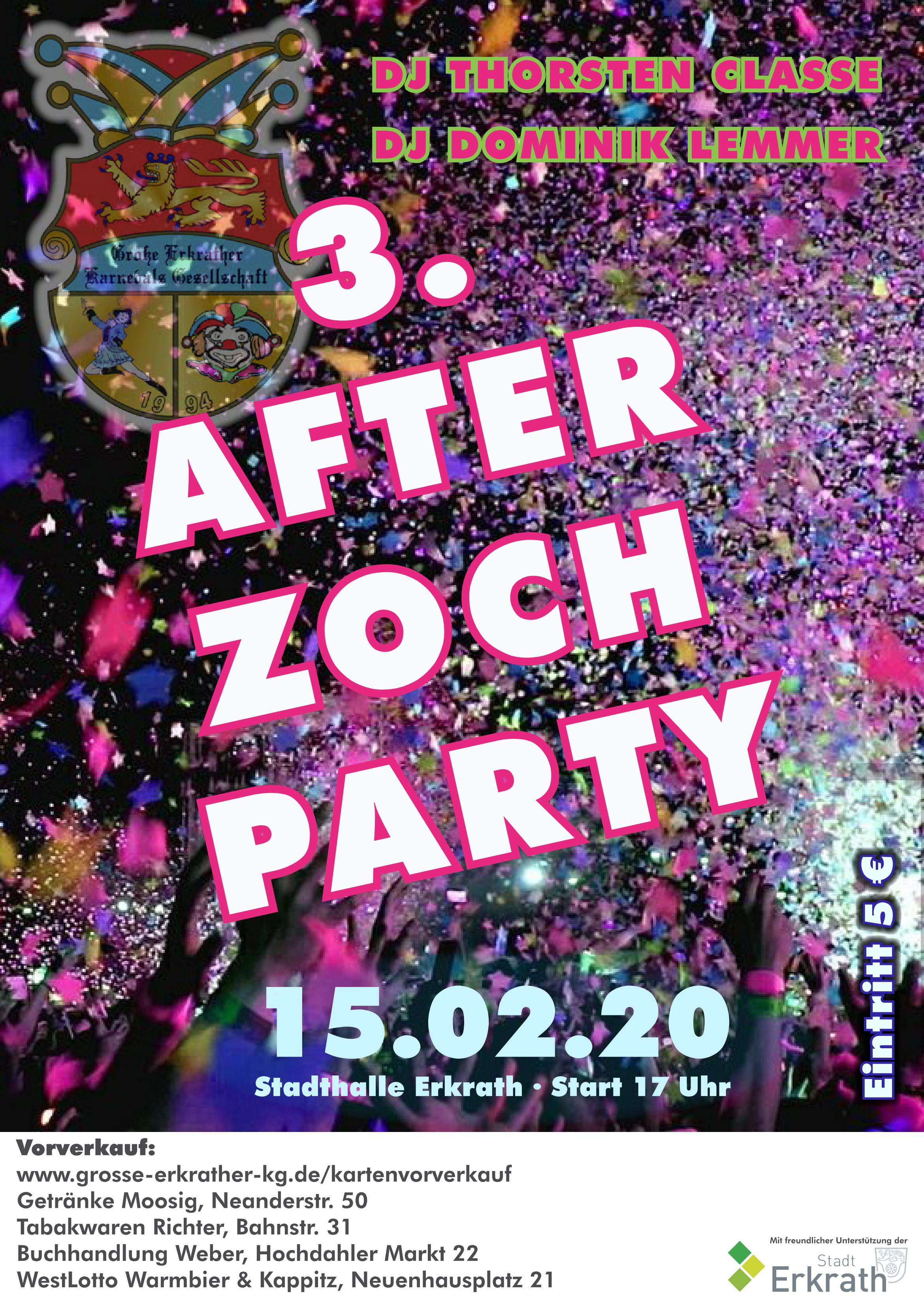 After Zoch Party 2020