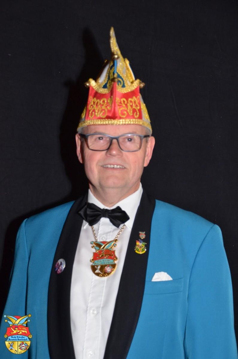 Ludwig Hucklenbroich ( Vereinsprinz 2015/16)